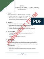 Modul 1 Pengenalan Ide c Dpk 2016