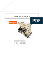 COurs Mapinfo2005 2006