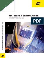 ESAB Materialy Spawalnicze 2012