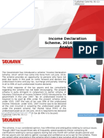 Income Declaration Scheme 2016 Critical Analysis