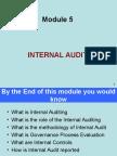 Module on Internal Audit