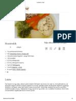 Csontleves Recept