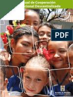 Manual de Cooperación Internacional Descentralizada 2007 Medellin