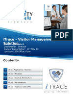ITrace - Visitor Management Application Software