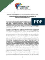 Apuntes del Pleno celebrado el 19.07.2016 en el Ayuntamiento de Sanlúcar La Mayor