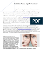 Rejuvenecimiento Facial Con Plasma Bogotá Vasculaser
