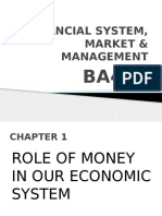 Financial System, Market & Management