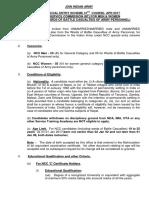 114 1 Detailed Notification Ncc Spl 41 Course Apr 2017