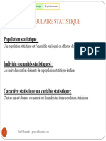 Cours Statistiques Master