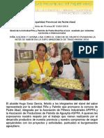 Nota de Prensa 2016 - 182