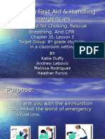 Providing First Aid & Handling Emergencies