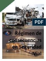 Régimen de consecuencias  en seguridad vial
