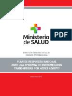 MSP Plan de Respuesta Aedes Aegypti