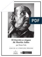 Victor Vich - El Escrito a Ciegas de Martin Adan