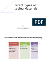 Different Types of Packaging Materials