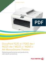 Fuji_DocuPrint P225 and 265 Series Brochure_4e94