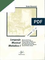 Lenguaje Musical Melódico 1