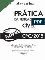 Pratica peticao inicial civel - 2015.pdf