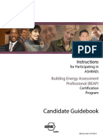 Building Energy Assessment Professional Long