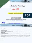 1. Equipment Maintenance Step 1 2 3 - ACT - TRG -053