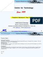 1. Equipment Maintenance Step 1 2 3 - ACT - TRG -053