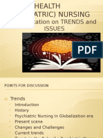 Future Trends and Issues in Mental Health Nursing Practice