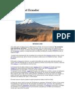 Volcanes Del Ecuador