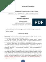 AUDIZIONE  DIRIGENTE REGIONE SICILIA DR GAETANO GULLO COMMISSIONE Parlamentare DI inchiesta SULLE ATTIVITÀ ILLECITE Connesse AL CICLO DEI RIFIUTI E SU ILLECITI CANNOVA PADUANO LUPO ZUCCARELLO LO VOI GULLO