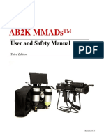Ab2k Mmads User & Safety Manual Third Edition