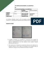 Formato de Verificaion Material Volumetrico