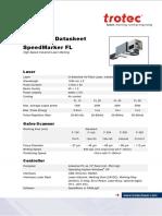 Technical Datasheet SpeedmarkerFL en-new