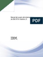 Manual Del Usuario Del Sistema Básico de IBM SPSS Statistics 21