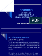 Divorcio - Dra. Maria Isabel Sokolich Alva