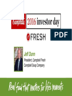 2016 Campbell Investor Day C-Fresh Jeff Dunn 07-20-16