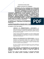 Alegatos de Conclusión Oral Administrativo