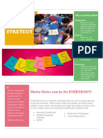 sticky note strategy fact sheet