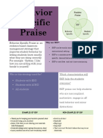 behavior specific praise
