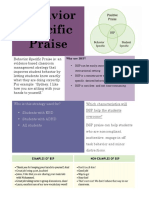 sfs behavior specific praise