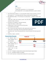 StarPMO Formula Sheet