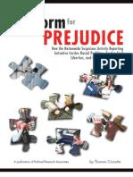 Platform for Prejudice