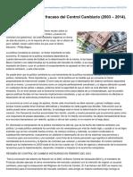 Miseshispano.org-Venezuela Historia y Fracaso Del Control Cambiario 2003 2014