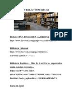 90 Bibliotecas Gratis
