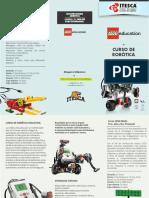 Triptico Curso Lego