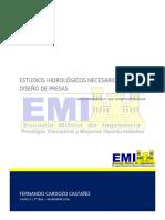 01 Estudios Hidrologicos Necesarios Para El Diseño de Presas