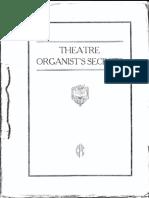 Carter SecrTheatre Organist's Secrets by C. Roy Carterets 1