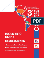 Documento Base y Resoluciones -Trilingue