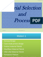 Material Selection and Process Pertemuan Ke 2