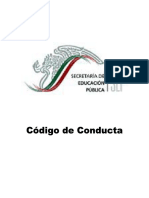 Codigo de Conducta SEP