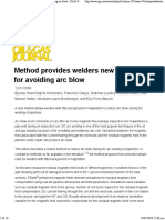 Method Provides Welders New Technique for Avoiding Arc Blow - Oil & Gas Journal