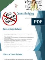 cyber-bullying - darby alejado